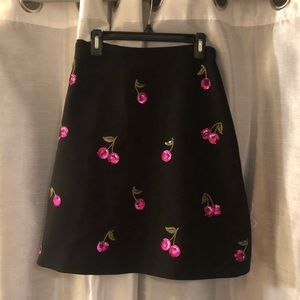 Kate Spade skirt with sequins detail